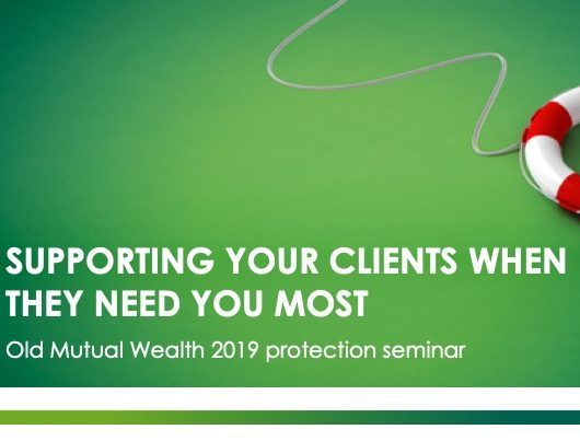 Old Mutual Wealth Protection Seminar